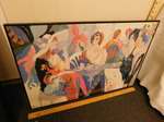 Black framed print by Maimon, great...