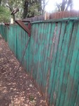 LARGE 40' OF WOODEN CRACKLED FENCE PANELING