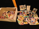 Box of assorted collectible sports ...