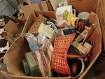 Large box of assorted arts & crafts...