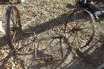 ANTIQUE WAGON WHEELS