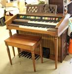 LOWREY MAGIC GENIE 44 ORGAN W/ BENCH