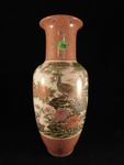 Beautiful Asian hand-painted vase...