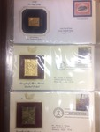 22K GOLD US STAMP REPLICA COLLECTION
