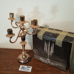Silverplate Candelabra