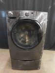 Black Kenmore Elite frontload washe...