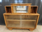 Great art deco display cabinet w/pu...