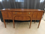 Beautiful curved front buffet w/gre...