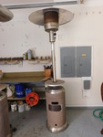 Large gas patio heater, works great...