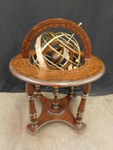 "Awesome globe table, approx 21""x27""..."