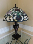 Awesome Tiffany lamp w/beautiful sh...