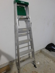 Werner 6' aluminum step ladder...