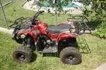 125 CC COOLSTER FOUR WHEELER 4X2 WITH FRONT AND BACK RACKS