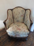 Antique Victorian chair w/great woo...