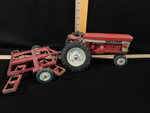 Vintage McCormick Farmall 560 toy t...