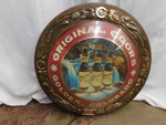 Original Coors round lighted sign, ...