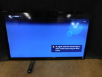 "Sony Bravia 55"" TV w/remote, works ..."