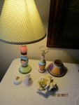 Small ceramics and lamps