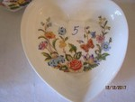 3 PC ANSLEY HEART BOWL AND MORE