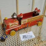 Vintage Fisher Price Winky Blinky Fire Truck