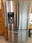 Samsung silver French Door fridge, ...