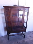 Great vintage cabinet w/beautiful a...