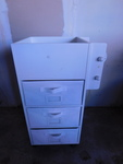 White arts & crafts cabinet w/3 dra...