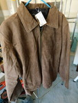 Brown Casual Outfitters Genuine Sue...