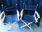 Set of 2 directors chairs...