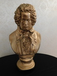 Great Beethoven gold tone bust...