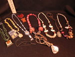 Assorted necklaces...