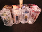 Set of 4 Star Trek Collectible Glas...