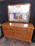 Great 8-drawer dresser w/mirror, gr...