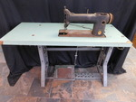 Vintage Singer industrial sewing ma...