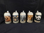 Set of 5 collectible Budweiser Enda...