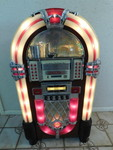 Lighted Jukebox Design Wooden Cabin...