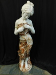 Stunning marble and alabaster woman...