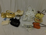 Assorted new handbags, etc....