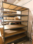 Large warehouse shelf unit, needs t...