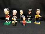 Assorted bobble head figures...