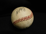 Gaylord Perry signed baseball...