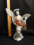 Vintage ornate porcelain Japanese w...