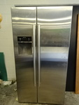 Bosch stainless side-by-side fridge...