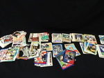 Assorted collectible sports cards, ...
