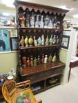 BEAUTIFUL CONSOLE WITH TALL HUTCH