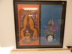 Black framed goddesses picture...