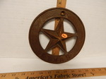 Cast iron Texas star...