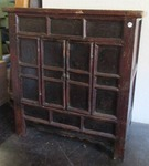 BEAUTIFUL ASIAN STYLE WOOD CABINET WITH HIDDEN STORAGE