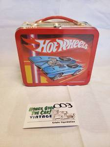 Hallmark Hot Wheels Repro Lunch Box
