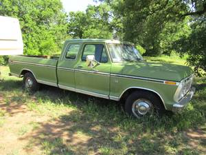 1974 FORD F250 SUPER CAB RANGER XLT PICKUP